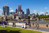 London's financial center — Stock Photo