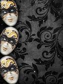 Vintage style masquerade background — Stockfoto