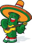 Mexican cactus — Stock Vector