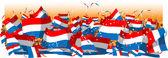 Netherlands soccer fans — Stock Vector
