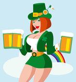 St. Patrick's Day — Stock Vector
