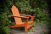 Orange Chair — Stock Photo