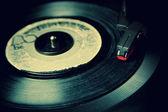 Retro Vinyl Record — Stock Photo