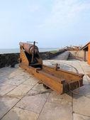 083 Whitworth Cannon, Forte de Castelo — Stock Photo