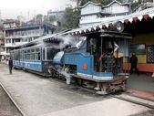 Tourist Steam Train at Ghum (146) — Stock Photo