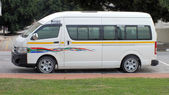 South African Minibus taxi — Stock Photo