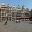 Grand Place Guildhalls — Stock Photo