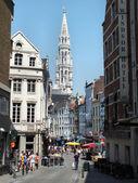 Rue de l'Homme Chretien, Brussels — Stock Photo