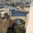 Stock Photo: Valletta Fortifications