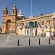 Marsaxlokk parish church of Our Lady of Pompei — Stock Photo