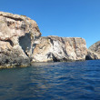 Maltese Blue Grotto — Stock Photo