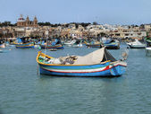 Marsaxlokk Harbour — Stock Photo