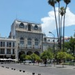 Centro Cultural Americo Building, Salta — 图库照片