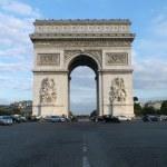 Arc de Triomphe de l'Etoile — Stock Photo #39570171