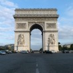 Arc de Triomphe de l'Etoile — Stock Photo