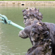 A close up of Neptune at Versailles's Neptune Fountain — Photo #39581593