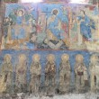 Stock Photo: Frescoes at Surp Astvatsatsin church at AkhtalMonsatery