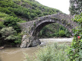 Tamara's bridge, Alaverdi — Stock Photo