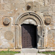 Gergeti Trinity Church doorway — Stock Photo #50564867