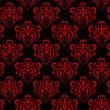 Hearts Wallpaper — Stock Vector