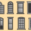Royalty-Free Stock Vector Image: Window Frames