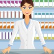 Stock Vector: Pharmacist