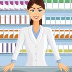 Pharmacist — Stock Vector