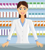 Pharmacist — Stock Vector