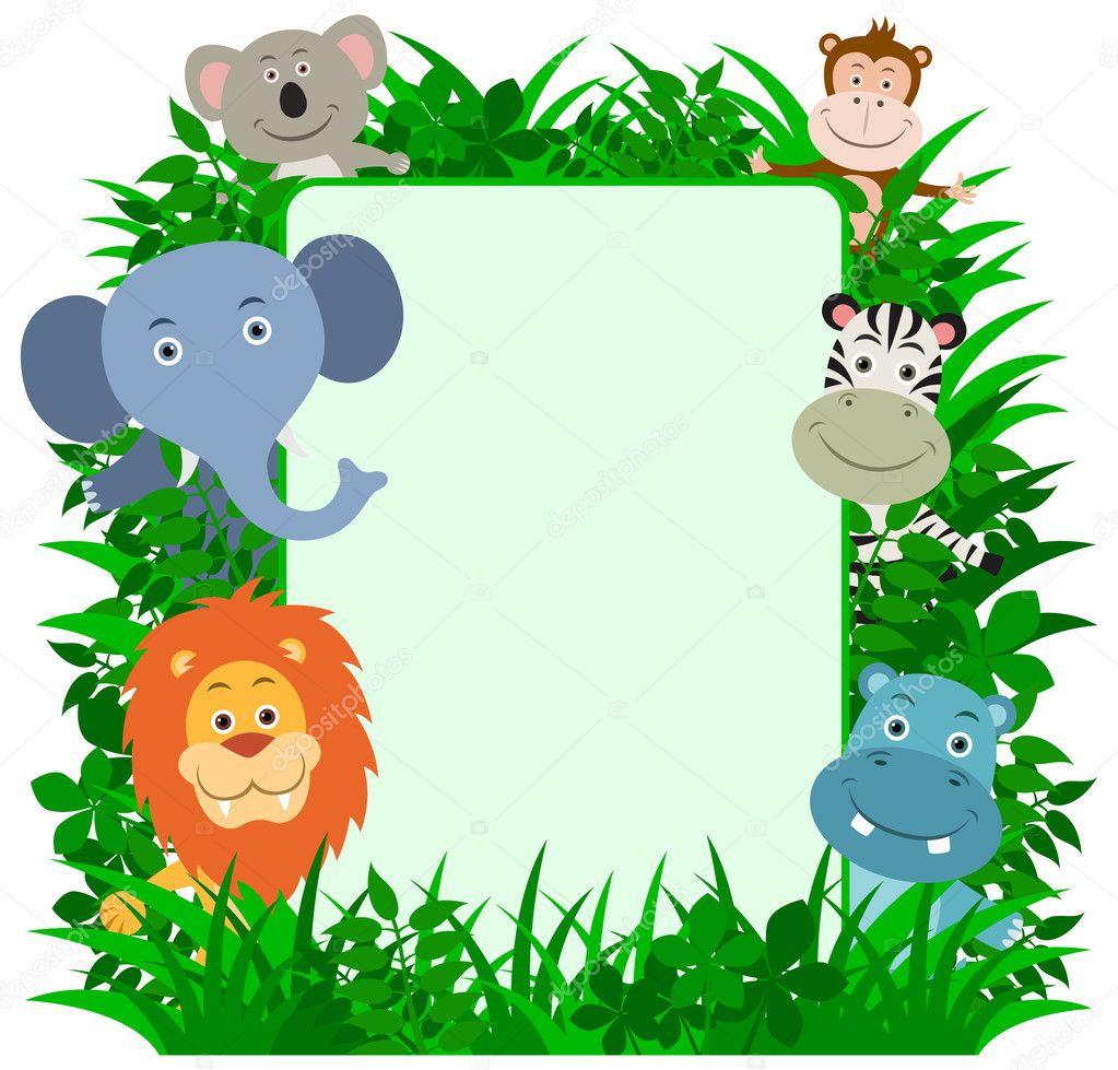 Jungle Animal Frame