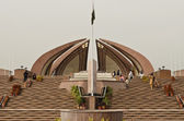 Pakistan Monument front — Stock Photo