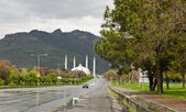 Shah Faisal Mosque Islamabad — Stock Photo