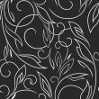 Seamless floral background - Stock Vector
