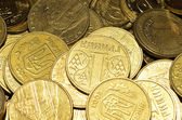 Coins close up — Stock Photo