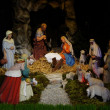 Osijek, Croatia. 24th Dec, 2012. Nativity scene in church of St. Peter and St. Paul in Osijek, Croatia - Stock Photo