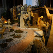 Osijek, Croatia. 24th Dec, 2012. Nativity scene in Capuchin Church in Osijek, Croatia - Stock Photo