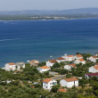 View of Tkon on Island of Pasman,Croatia - Stock Photo
