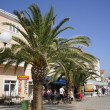 Preko town on Island of Pasman, Croatia - Stock Photo