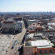 Panorama  view of Zagreb,Croatia - Stock Photo
