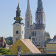 Zagreb,Croatia. Zagreb Cathedral - Stock Photo