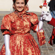 Zagreb,Croatia. Upper Town. Men and women dressed in old Zagreb costumes entertain guests and citizens of Zagreb - Stock fotografie