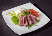 A gourmet fillet steak — Stock Photo