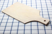 Wooden cutting board — 图库照片