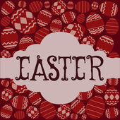 Happy easter — Vecteur