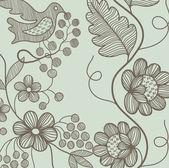 Ornamental Garden — Stock Vector