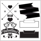 Valentine's day. Set — Stock Vector