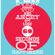 For every minute — Imagen vectorial