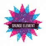 Color star grunge design element — Stock Vector #50967739