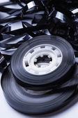 Magnetic audio tape reel — Stock Photo