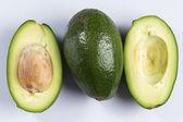 Fresh green avocado — Stock Photo