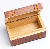 Cofanetto in legno d'epoca — Foto Stock